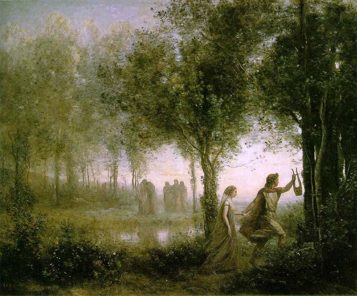 Orphée ramenant Eurydice des enfers, Jean-Baptiste Camille Corot© Wikipedia