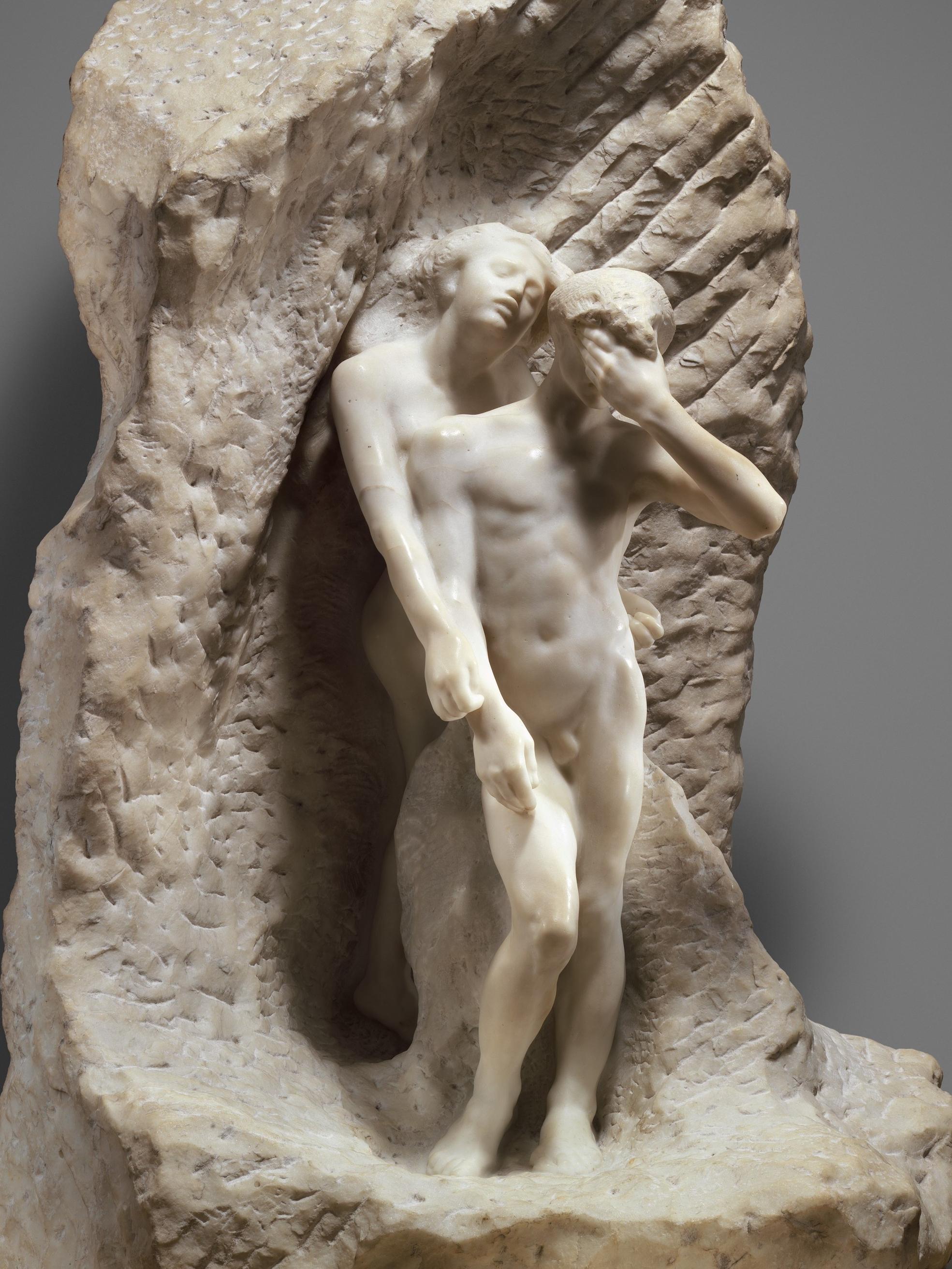 <p>8- Auguste Rodin, <em>Orphée et Eurydice</em> (détail), 1887-1893<br/><span>© www.metmuseum.org</span></p>