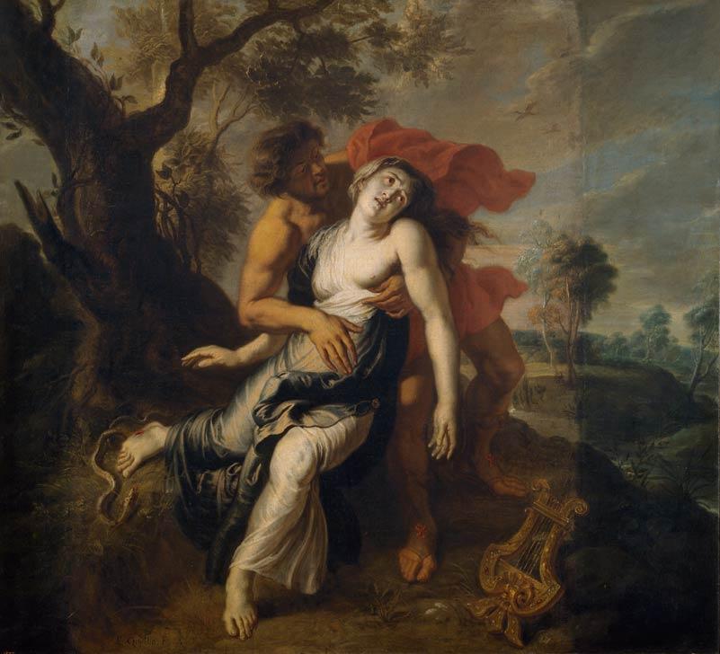 <p>5- Erasmus Quellinus, <em>La Mort d'Eurydice</em>, 1636-1638<br/><span>© Museo nacional del Prado</span></p>