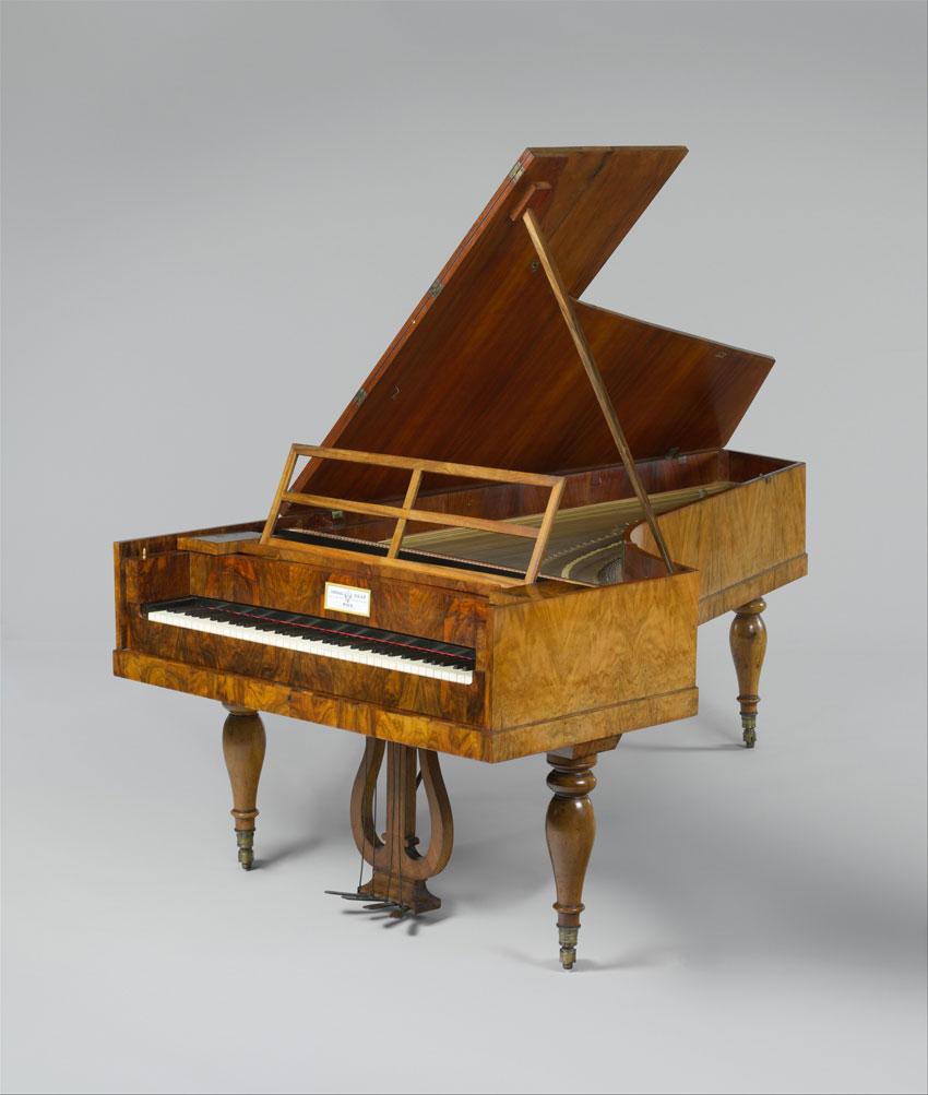 Piano-forte par Conrad Graf, à Vienne, ca. 1838 © www.metmuseum.org