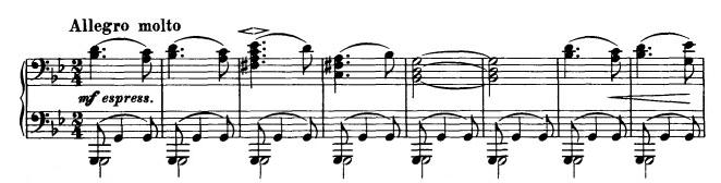 Danse hongroise n°1 - Partie A thème 1