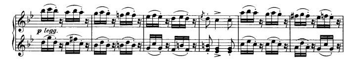 Danse hongroise n°1 - Partie A thème 2