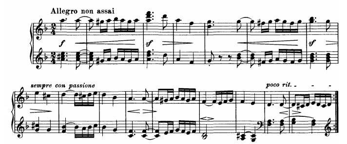 Danse hongroise n°2 - Thème 1