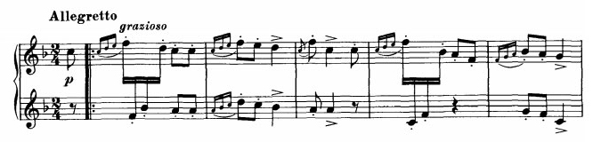 Danse hongroise n°3 - Thème 1