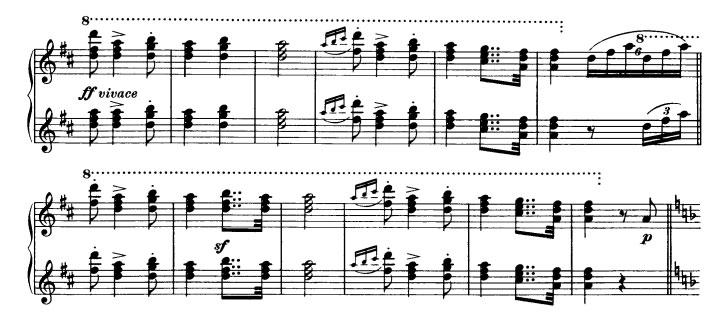 Danse hongroise n°3 - Thème 2