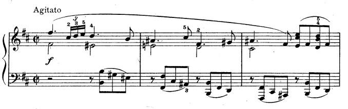 Rhapsodie n° 1 - Partie A idée 1