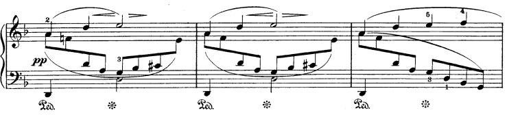Rhapsodie n° 1 - Partie A idée 2