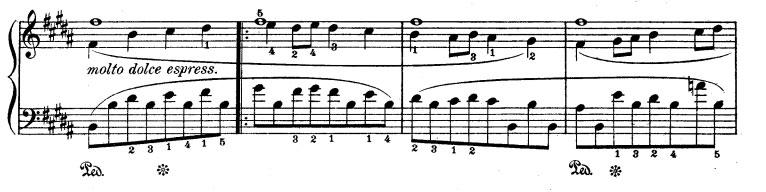Rhapsodie n° 1 - Partie B