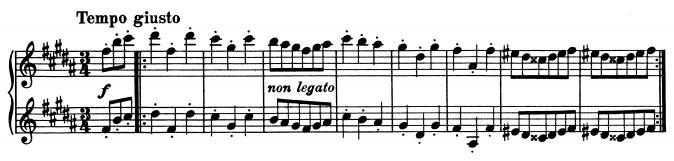 Brahms - 1ère valse