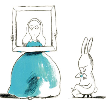 Illustration Alice au pays des merveilles