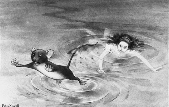 Alice et La Souris, par Peter Newell, 1902 © Met