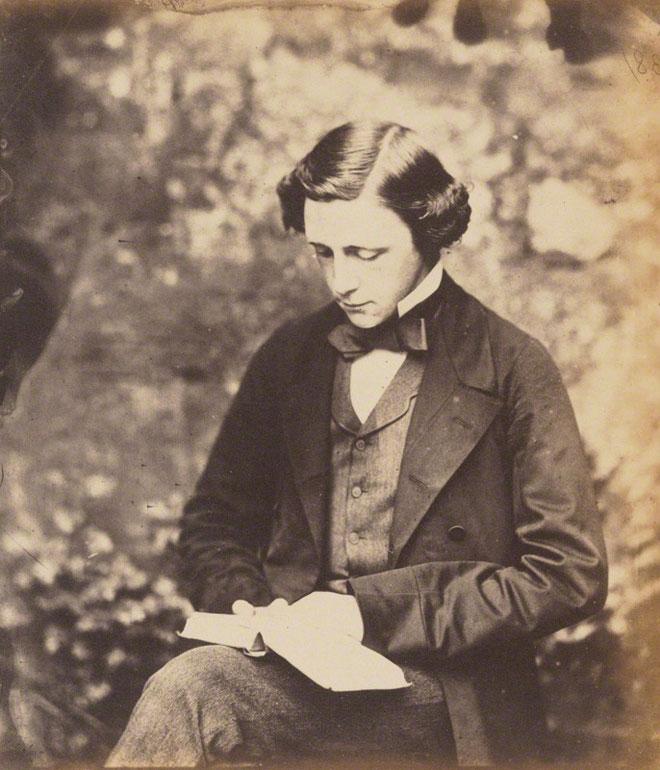 Lewis Carroll,autoportrait, vers 1856 © National portrait gallery London