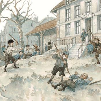 Illustration Jeux de guerre, jeux de vilain: l'esprit de revanche © Maël