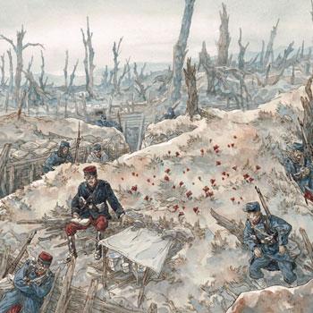 Illustration Jeux de guerre, jeux de vilain : le conflit © Maël