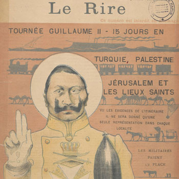 Le Rire, journal humoristique, numéro du 26 novembre 1898 © Gallica BnF