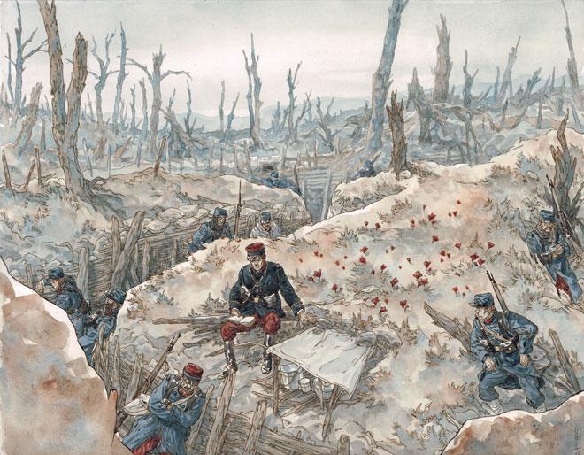 Illustration Jeux de guerre, jeux de vilain: le conflit © Maël