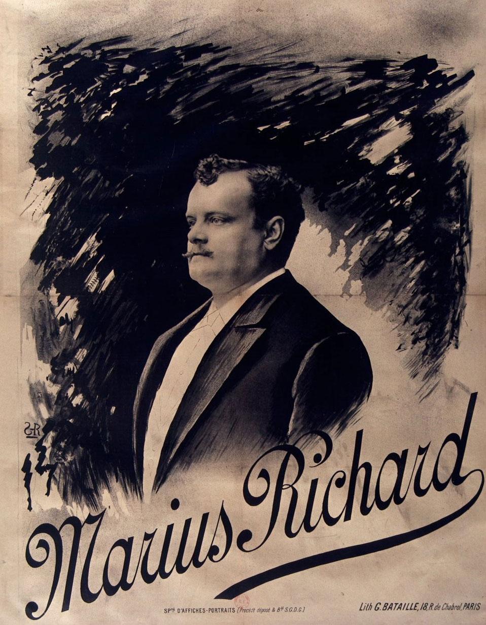 Marius Richard(affiche) © Gallica BnF