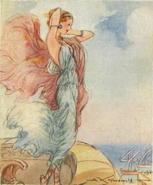 Hélène de Troie © NY Public Library, digital collections