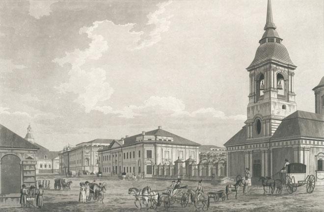 L'Arsenal de Saint Petersbourg © Österreichische Nationalbibliothek