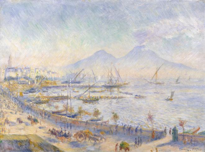 La Baie de Naples, par Auguste Renoir © Metropolitan Museum
