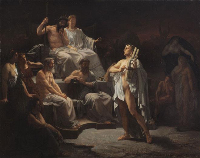 Orphée aux enfers, de Jacquesson de la Chevreuse © Musée des Augustins, Toulouse