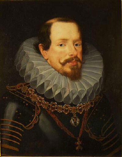 Vincent de Gonzague, duc de Mantoue, par Frans II Pourbus © Chambéry, Musée des beaux-arts