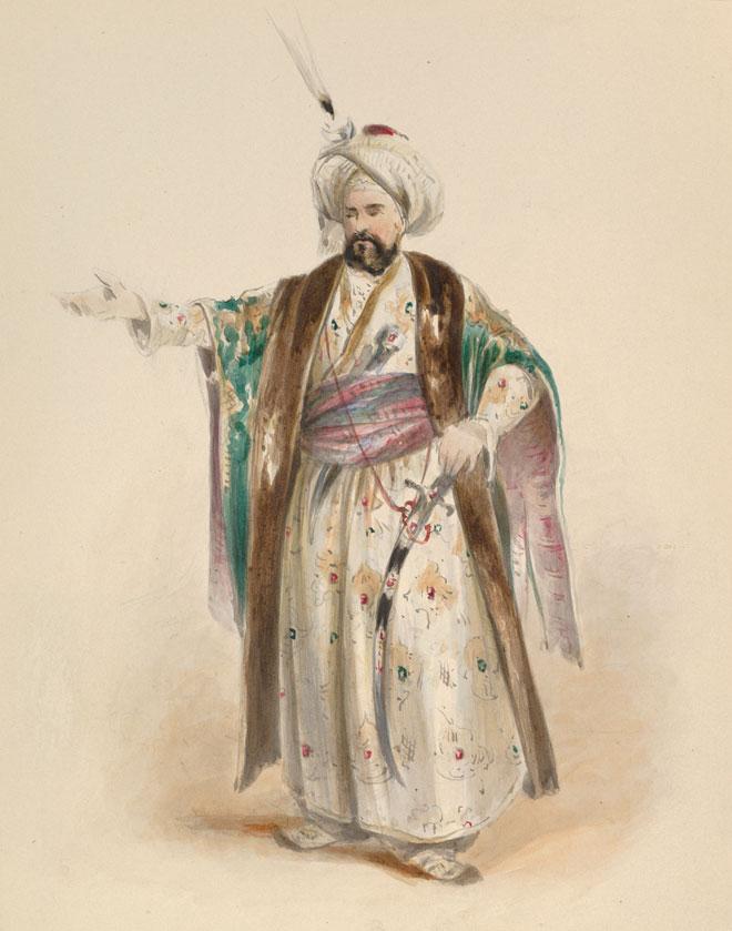 Costume pour le rôle de Selim © Metropolitan Museum
