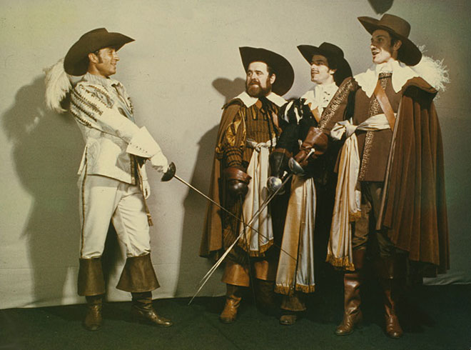 Les Trois Mousquetaires © NY Public Library, digital collections