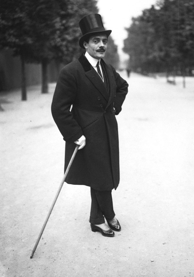 Max Linder, 1914 © Agence Rol - Gallica-BnF