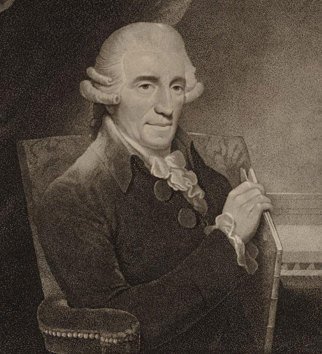 Joseph Haydn par Thomas Hardy © Gallica-BnF