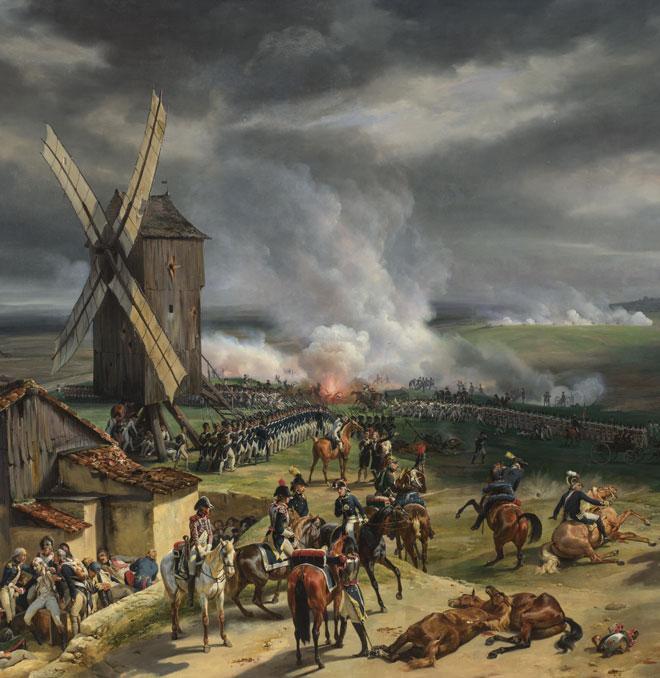 La Bataille de Valmy (détail), par Horace Vernet, 1826 © The National Gallery, Londres