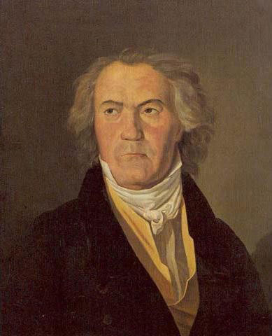 Portrait de Beethoven en 1823, par Ferdinand Georg Waldmüller © Kunsthistorisches Museum, Vienne