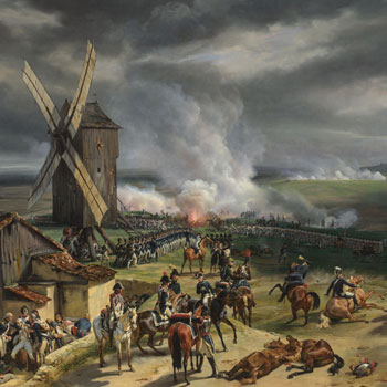 La Bataille de Valmy (détail), par Horace Vernet, 1826 © The National Gallery, Londres