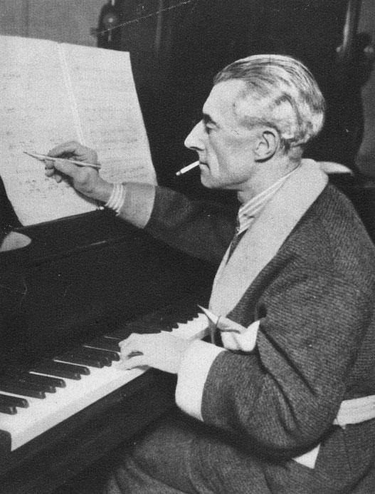 Portrait de Maurice Ravel © Österreichische Nationalbibliothek
