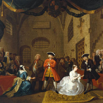 The Beggar's Opera de John Gay, par William Hogarth, vers 1728 © National Gallery of British Art, London