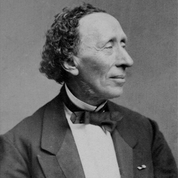 Hans Christian Andersen (d'après le portrait par Hansen Schou and Weller, 1869 © National Portrait Gallery)