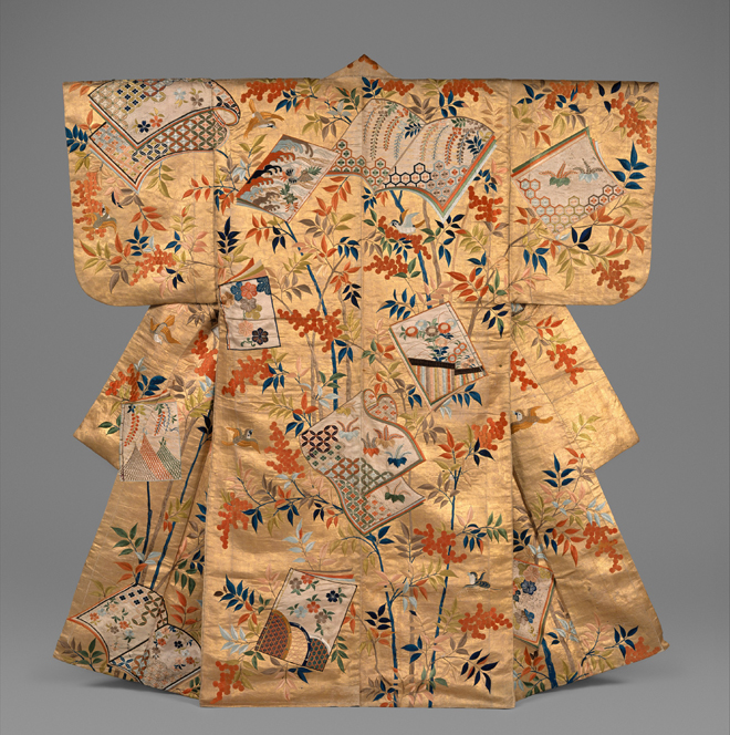 Costume de nô, période Edo. Source : Metropolitan Museum of Arts/CC0