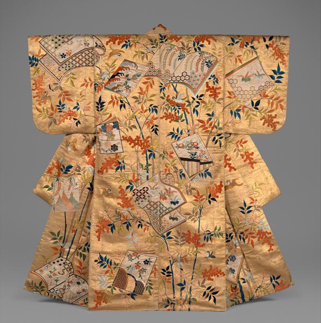 Costume de nô, période Edo. Source: Metropolitan Museum of Arts/CC0