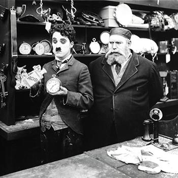 Charlot brocanteur de Charlie Chaplin  