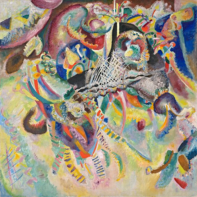 Fugue, peinture de Vassily Kandinsky, 1914. Fondation Beyeler/CC-PD