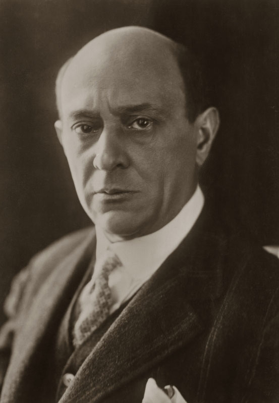 Portrait d'Arnold Schönberg, 1912. Österreichische Nationalbibliothek