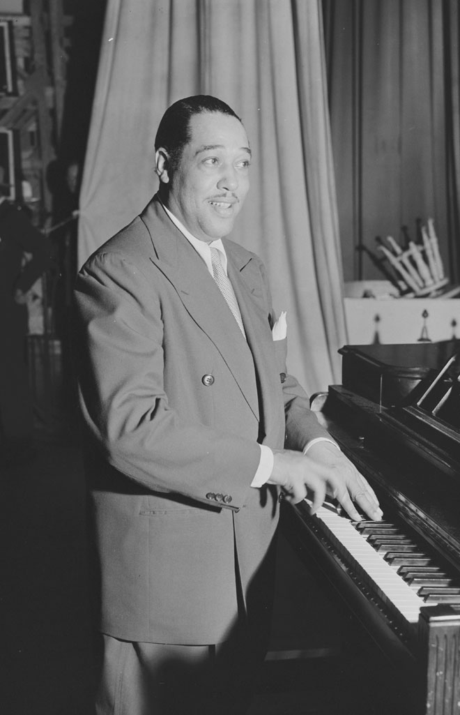 Portrait de Duke Ellington, photo de William Gottlieb. Library of Congress