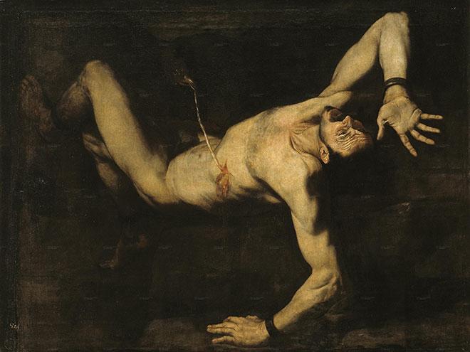 [11] <cite>Prométhée</cite>, peinture de José de Ribera, 1632<br>Museo del Prado