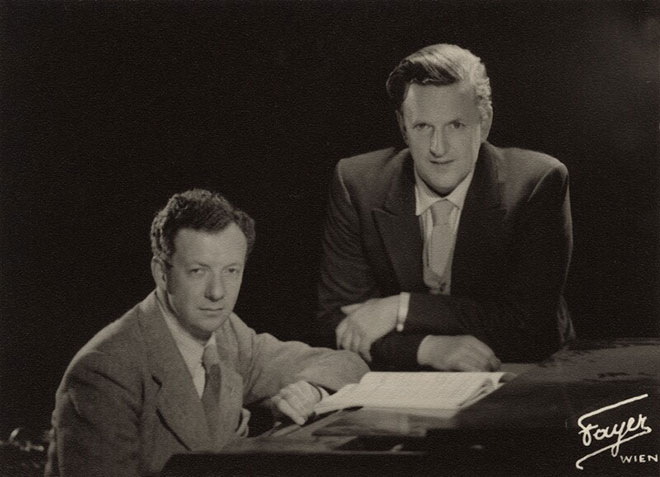 Benjamin Britten et Peter Pears, 1940. National Portrait Gallery, London CC BY-NC-ND