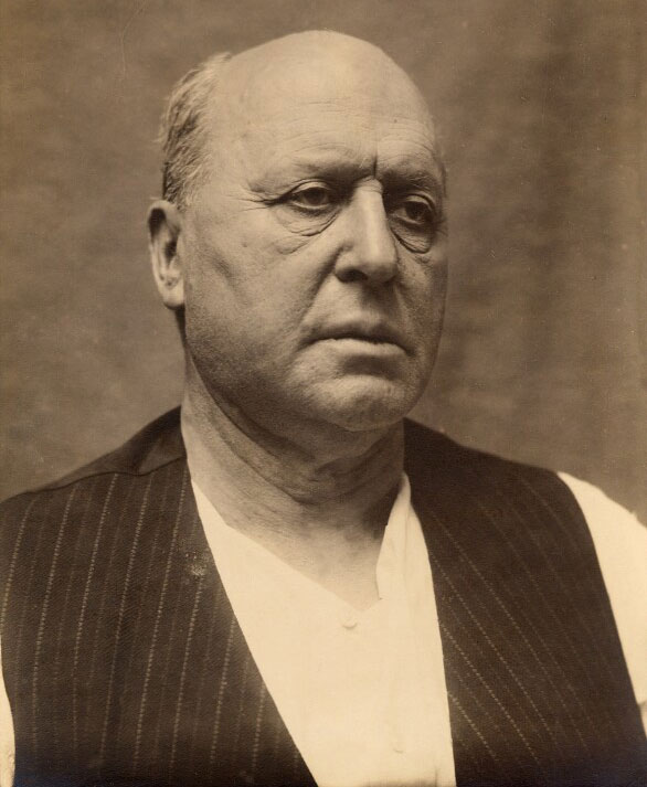Henry James, photo de Frederic Hilaire d'Arcis, 1913. National Portrait Gallery, London CC BY-NC-ND