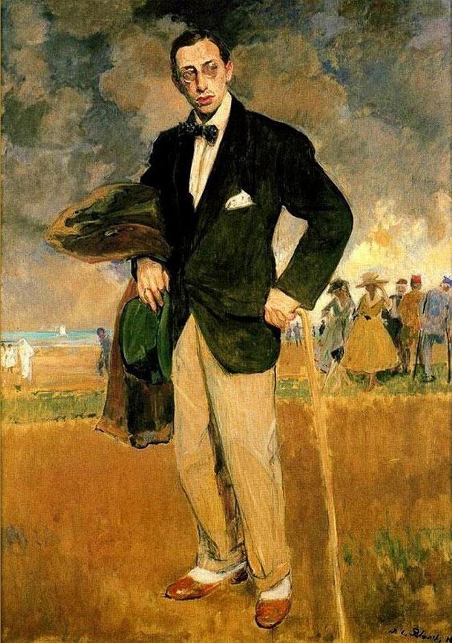 Portrait d'Igor Stravinski, peinture de Jacques-Émile Blanche, 1915. Musée de la musique - Philharmonie de Paris