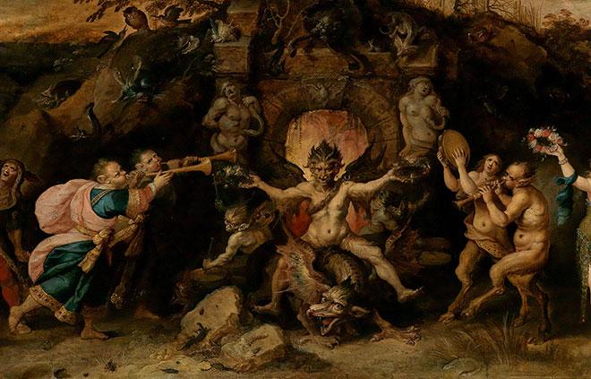 L'Éternel dilemme de l'Homme: le choix entre le vice et la vertu, peinture de Frans Francken le jeune, 1633. Museum of Fine Arts, Boston