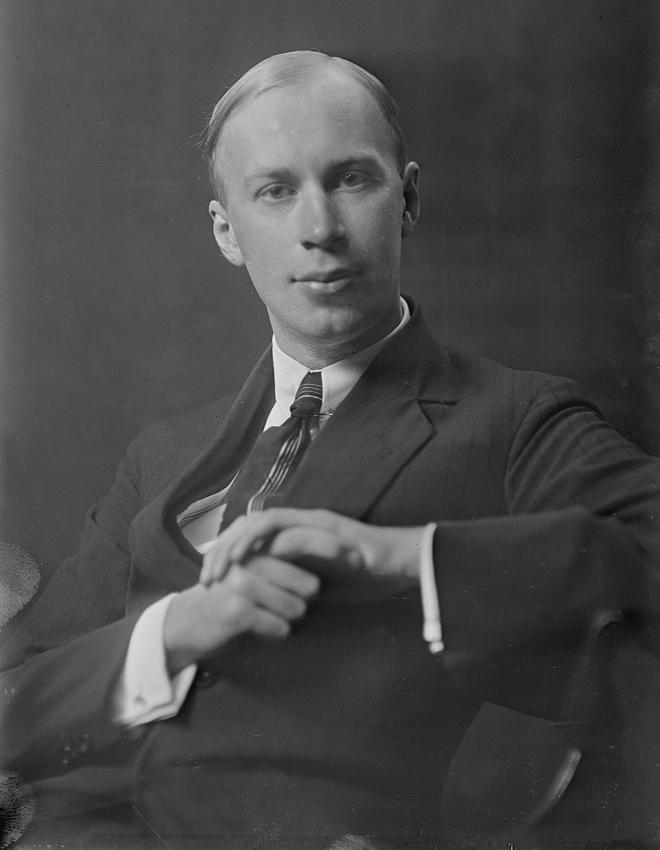 Sergueï Prokofiev, 1918, photo de Arnold Genthe. Library of Congress