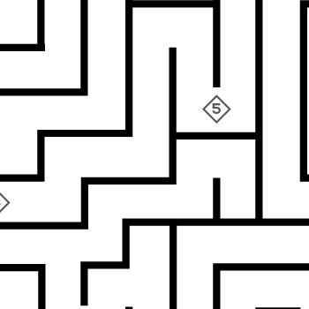 Jeu du labyrinthe de la boîte à outils Diriger l'oiseau de feu