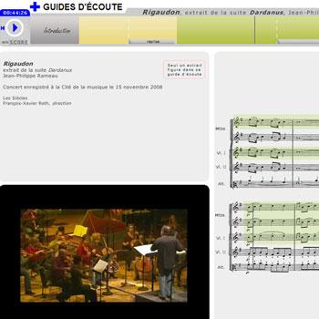 Guide d'écoute Dardanus (Rigaudon) de Jean-Philippe Rameau de la boîte à outils Pulsez!